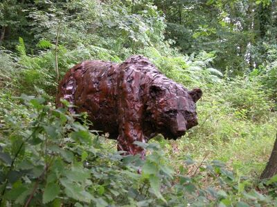 Mark Coreth, 'Walking brown bear', 2010