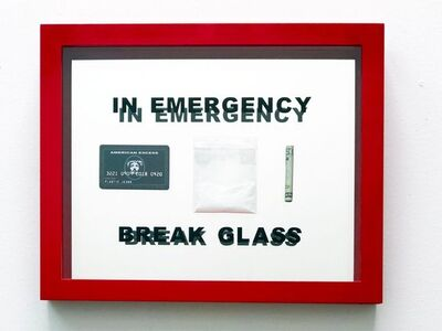 Plastic Jesus, 'In Emergency Break Glass', 2018
