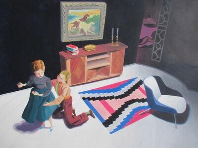 Kathy Osborn, 'Clutching her Skirt', 2015
