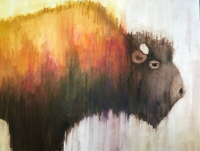 Jeanne Finkelstein Goodman, 'Bison', 2018