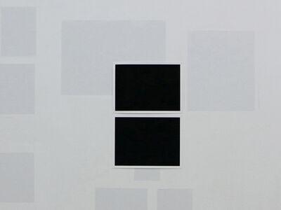 Ignasi Aballí, 'Double Exposure (    )', 2017