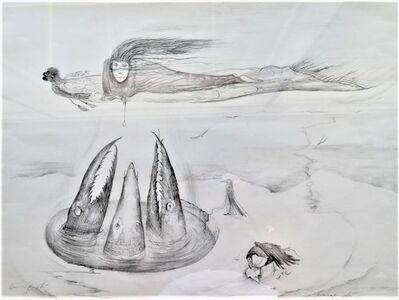 Leonora Carrington, 'Crocodiles', 1972