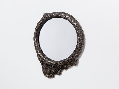 Steven Haulenbeek, 'Ice-Cast Bronze Mirror #3'