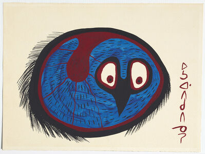 Norval Morrisseau, 'Untitled (Fat Bird)', 1967-1973