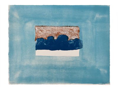 Howard Hodgkin, 'After Luke Howard, from For John Constable', 1976
