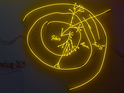 Joseph Kosuth, ''The Paradox of Content #3' [Yellow]', 2009