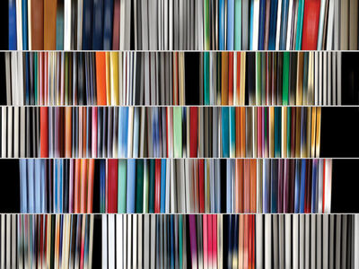 Danae Falliers, 'library70', 2014
