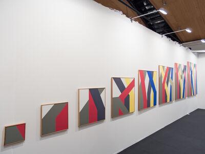 Anton Stankowski, 'reihenbild (8-part)', 1982-1990