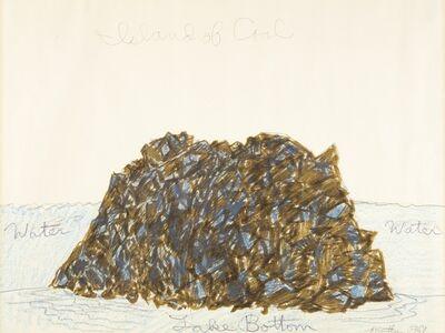 Robert Smithson, 'Island of Coal', 1969