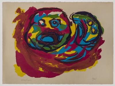Karel Appel, 'Two Heads', 1965