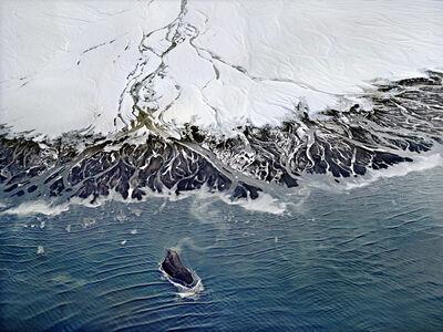 Henrik Saxgren, 'Alluvial Plain with Island', 2016