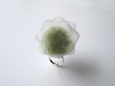 Mariko Kusumoto, 'Konpeitou, green', 2020