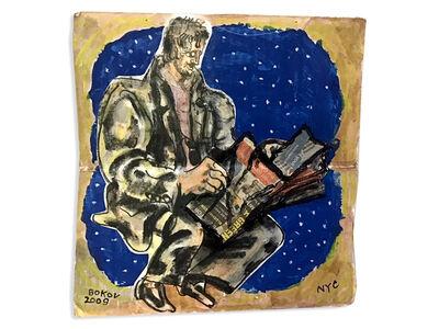 Konstantin Bokov, 'Drawing in Blue Stars', 2009