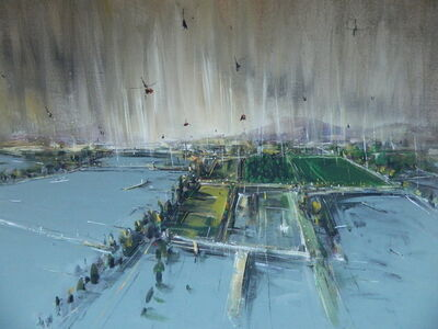 """Konstantin Batynkov, '""""In the harbor"""" 4', 2013"""