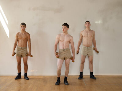 Luke Smalley, 'Wooden Dumbbells', 2007