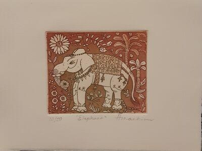 Peggy Hinaekian, 'Elephant', Late 20th Century