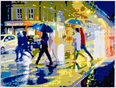 Konrad Winter, 'Regennacht (Rainy Night/Salzburg)', 2019