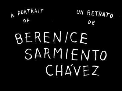 Hugo Crosthwaite, 'A Portrait of Berenice Sarmiento Chavez', 2018
