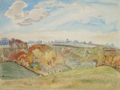 Erich Heckel, 'Herbst in Schleswig', 1943