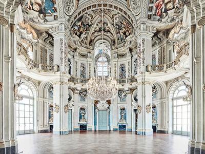 David Burdeny, 'Rotunda, Stupinigi Palace, Piedmont, Italy', 2016