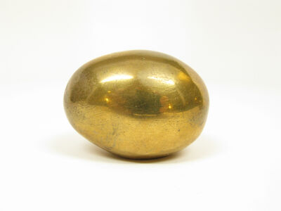 Carl Auböck, 'Brass Egg Paperweight, large', ca. 1950s