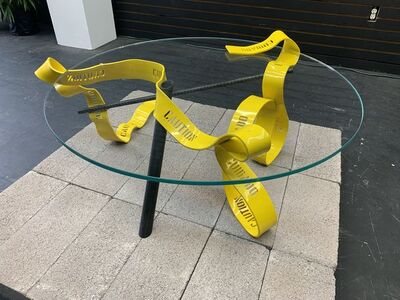 Gustavo Barroso, 'Caution Table', 2019