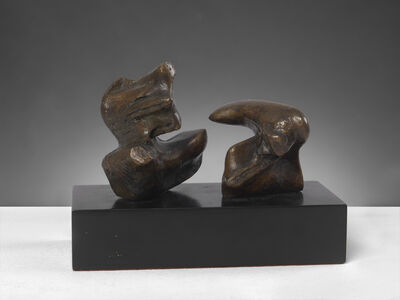 Henry Moore, 'Maquette for Two Piece Reclining Figure: Points', 1969