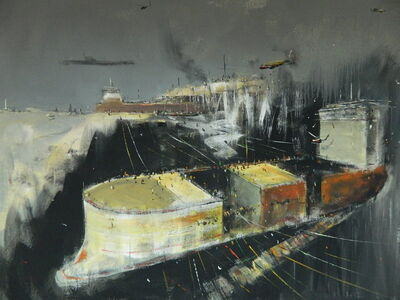 "Konstantin Batynkov, '""In the harbor"" 3', 2013"