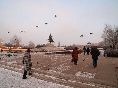 Nick Danziger, 'Tiraspol's Central Square', 2014