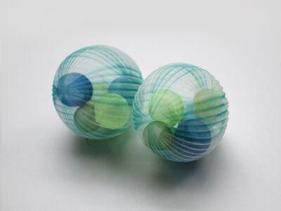 Mariko Kusumoto, 'Blue Temari ', 2020