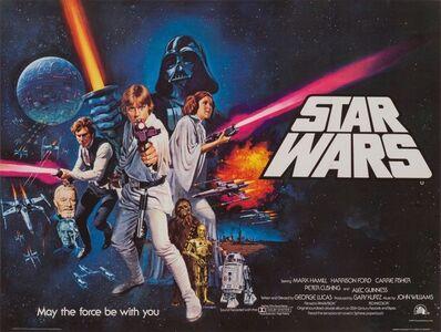 Tom Chantrell, 'Star Wars', 1977