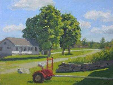 Ella Yang, 'Horse Cart on Adams Farm', 2020