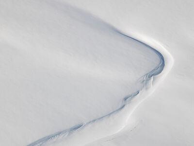 Diane Tuft, 'Snow Patterns, Svalbard, Norway', 2015