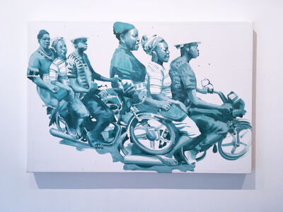 RU8ICON1, 'People On The Move 5', 2019