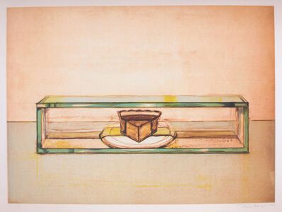 Wayne Thiebaud, 'Pie Case', 2002