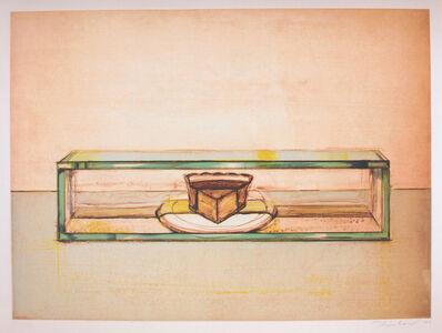 Wayne Thiebaud, 'Pie Case', 2002