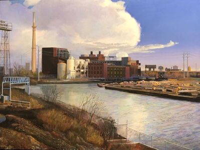 Art Chartow, 'South Branch Chicago River', 2018