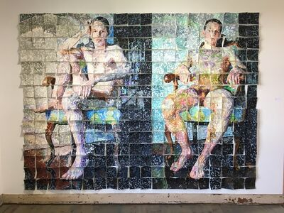 Terry Brynaert, 'Marc Assis (300 squares)', 2019