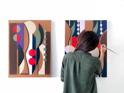 Naia Ceschin, 'Painting 60x80 cm', 2018