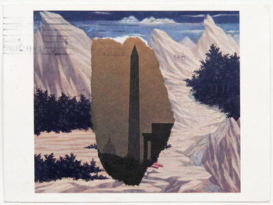 Ellsworth Kelly, 'Domenico Veneziano / Washington Monument', 1984