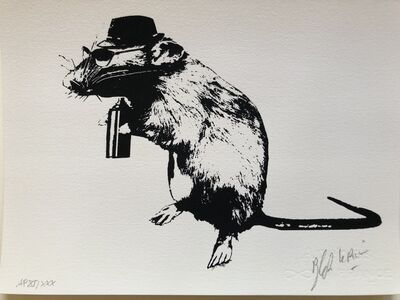 Blek le Rat, 'Street Artist's Paraphernalia - Artist Proof out of 30', 2016