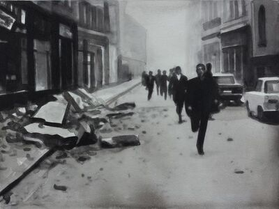 "Radenko Milak, '27 October 1969 Earthquake in Banja-Luka, from the series ""365""', 2013"