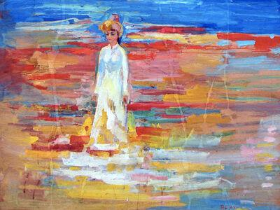 Sakhi Romanov, 'Woman in a National Costume', 1970-1989