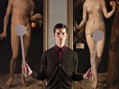 Adad Hannah, 'Blocking Adam and Eve', 2009
