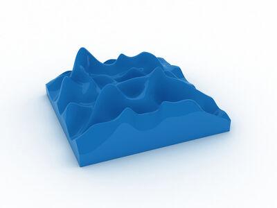 Peter Saville, 'Unknown Pleasure, Sky Blue ', 2012