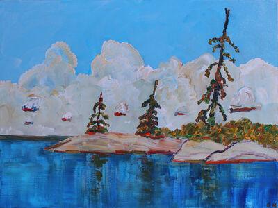 Gregory Hardy, 'Three Trees', 2021