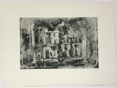 Louise Nevelson, 'Ancient City (only avail. with Portfolio of 23 prints)', 1965-66