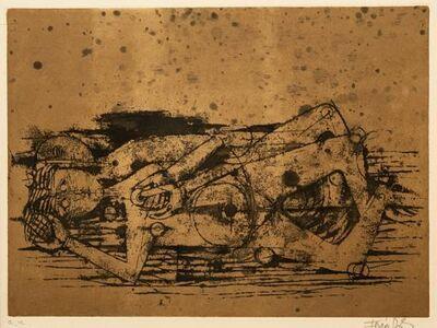Johnny Friedlaender, 'Man Lying Down', 1971