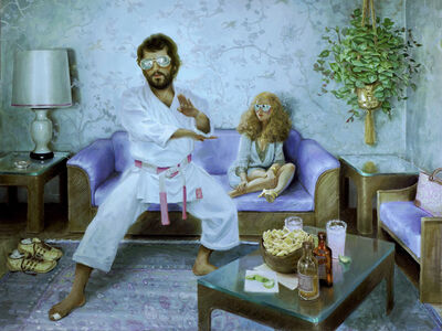 Jonathan Viner, 'A Date with Sensei Steve', 2019