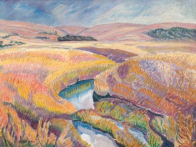 Leonora Everard Haden, 'Landscape with River'